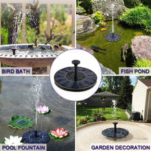 Load image into Gallery viewer, Solar Powered Fountain Pump