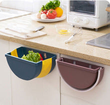 Load image into Gallery viewer, Mounted Foldable Kitchen Storage Bin