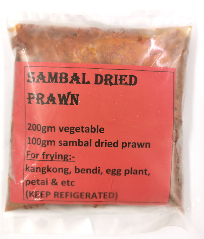 GA Sambal Dried Prawn