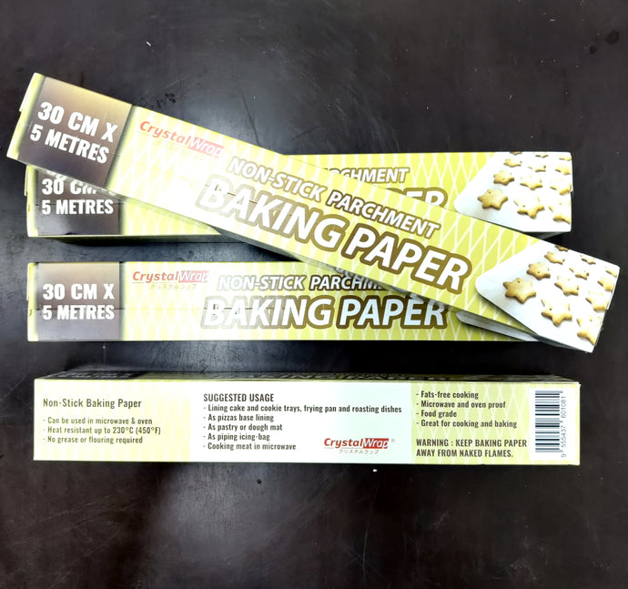 Baking Paper Roll 30mm x 5M