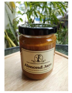 Jam - Almond infused with Coconut Oil