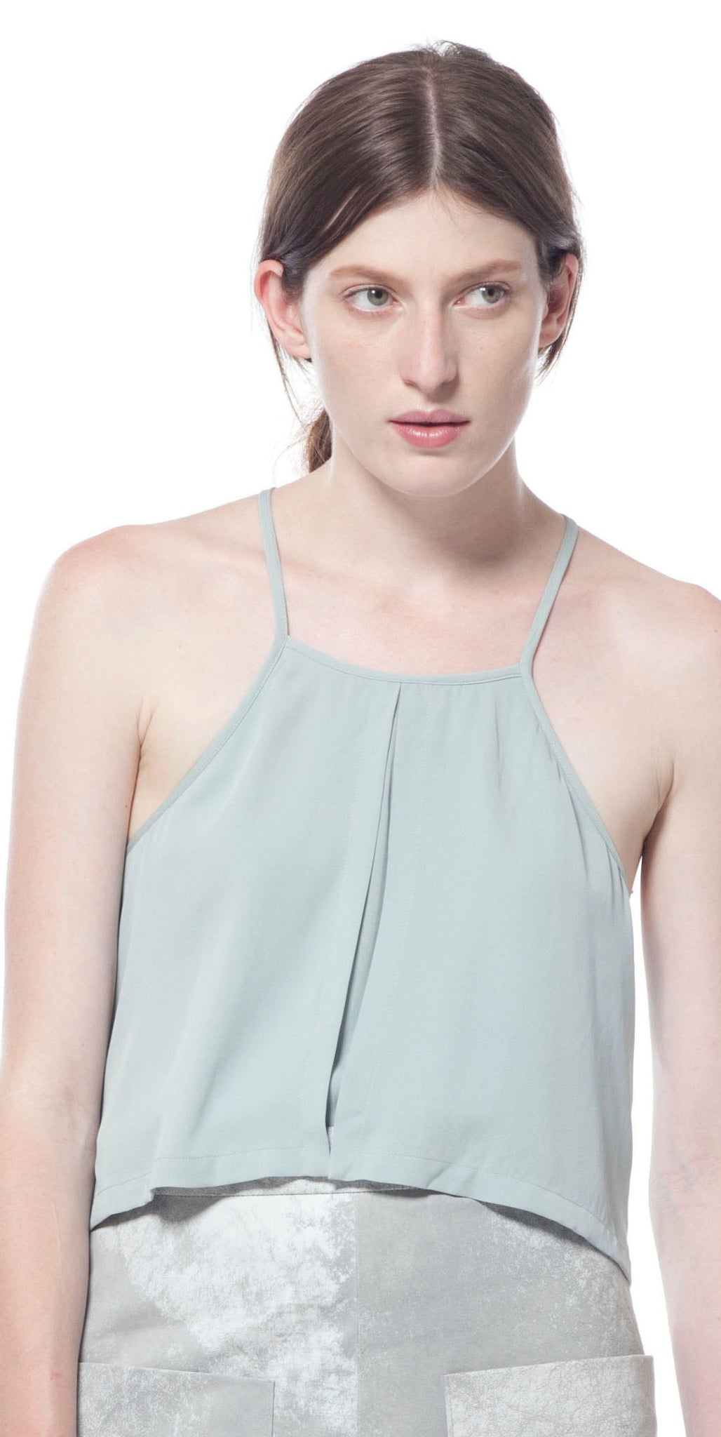 Envelope Tiered Silk Cami