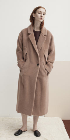 Column Cape Coat
