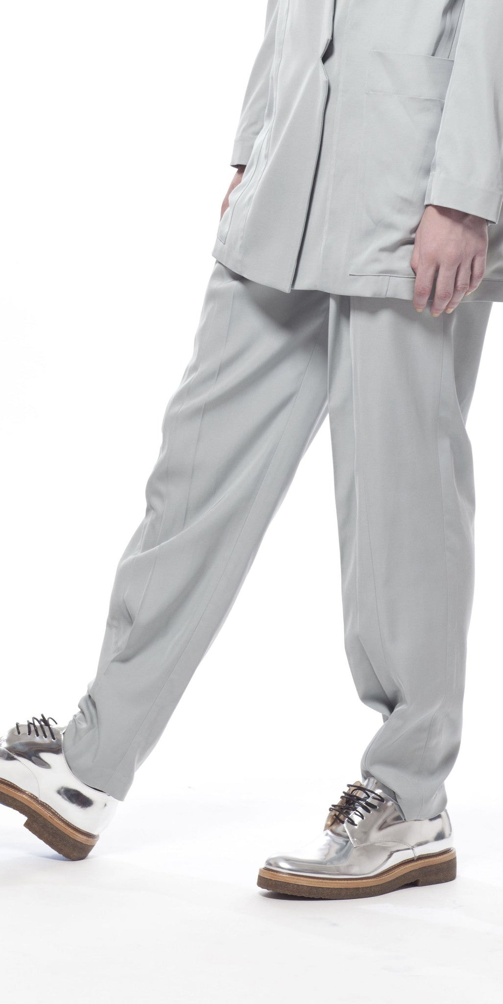 Supreme Pleated Trousers