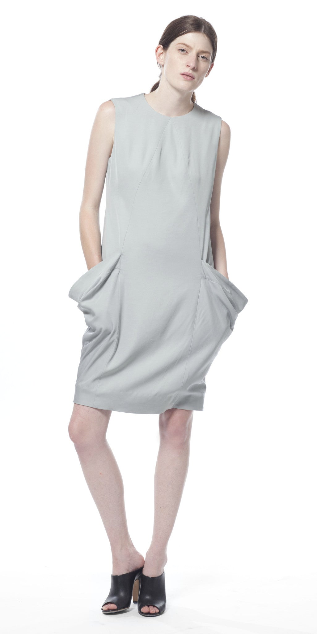 Uti Drape Pocket Dress