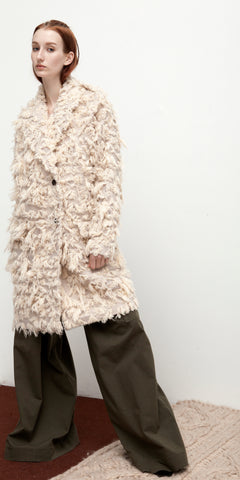 Plush Luxe Uni Coat