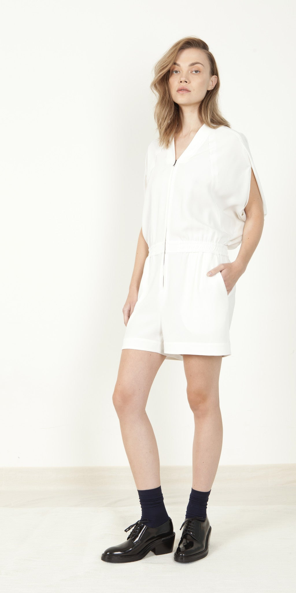 Cocoon Back Romper