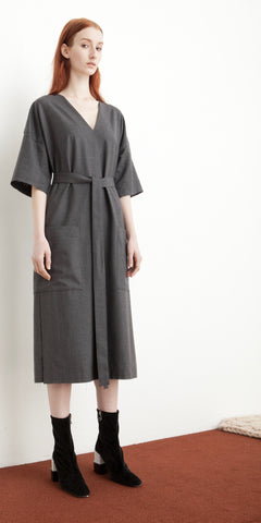 Kandan Dress in Granite