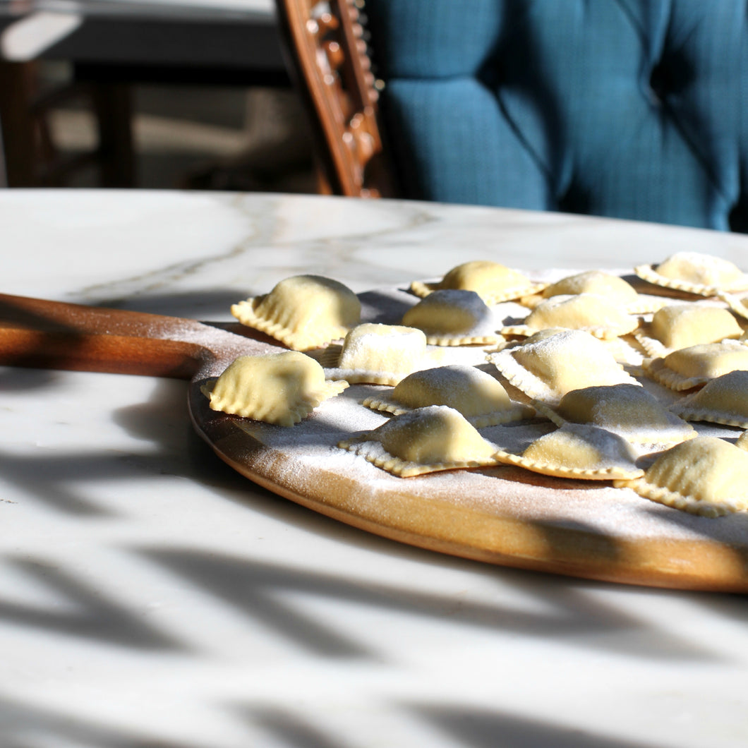 Ravioli filled with ricotta and spinach (500gm)