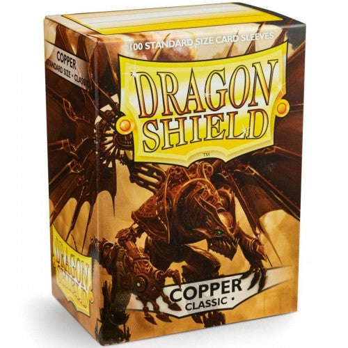 Dragon Shield Standard Sleeve 100CT Copper