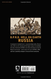 B.P.R.D Hell On Earth Vol. 3 Russia