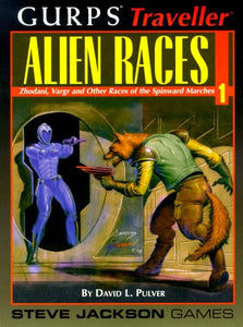 Gurps Traveller Alien Races 1 : Zhodani, Vargr and Other Races of the Spinward Marches