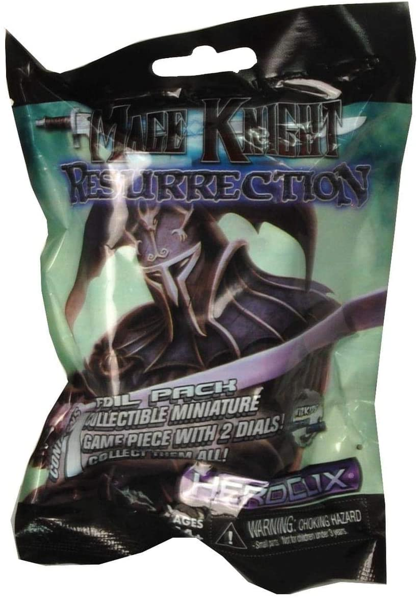 Mage Knight Resurrection Heroclix Store Figure Pack