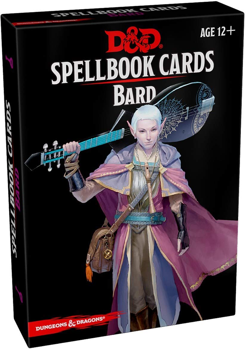 Dungeons & Dragons Spellbook Cards : Bard Second Edition