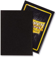 Load image into Gallery viewer, Dragon Shield Standard Sleeve Matte 100CT Black