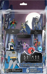 DC Heroclix Batman Animated : Series Starter Set