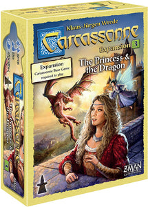 Carcassonne Expansion 3 : The Princess and The Dragon