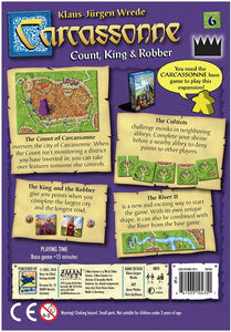 Carcassonne Expansion 6 : Count, King And Robber