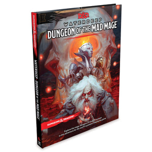 Dungeons & Dragons Rpg Waterdeep Dungeon Mad Mage