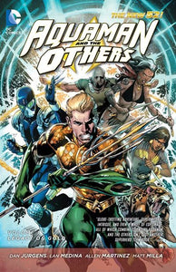 Aquaman And The Others Vol. 1 : Legacy Of Gold (the New 52)
