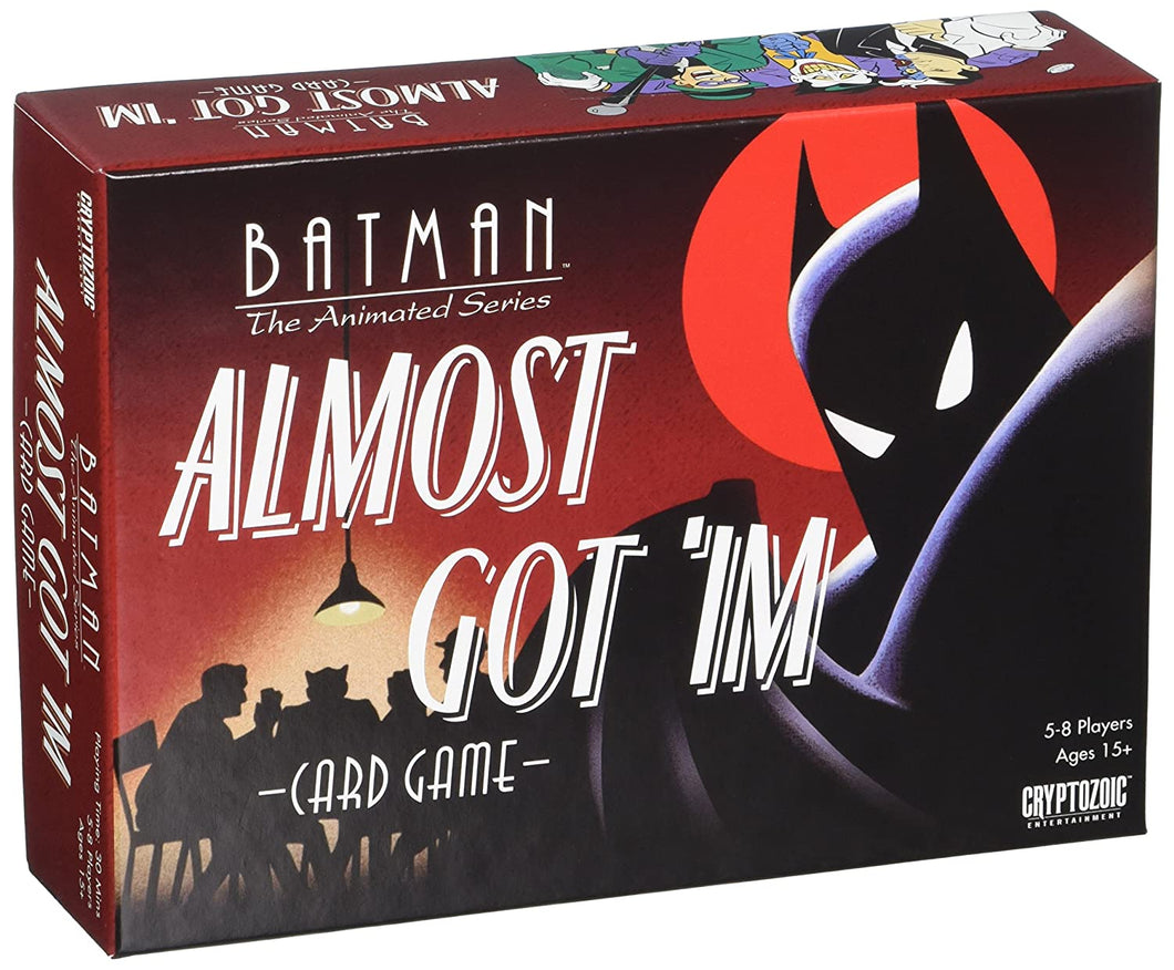 Batman The Animated Series : Almost Got `Im Card Game, Standard