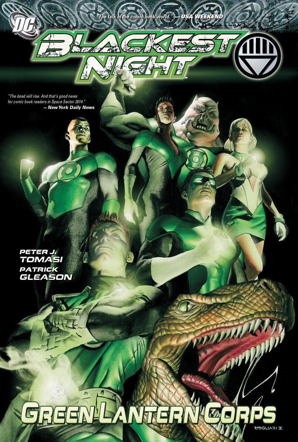 Blackest Night : Green Lantern Corps Vol. 1