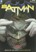 Load image into Gallery viewer, Batman : Death of the Family Book and Joker Mask Set