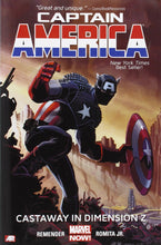 Load image into Gallery viewer, Captain America Vol. 1 : Castaway in Dimension Z Book 1 (Marvel Now)