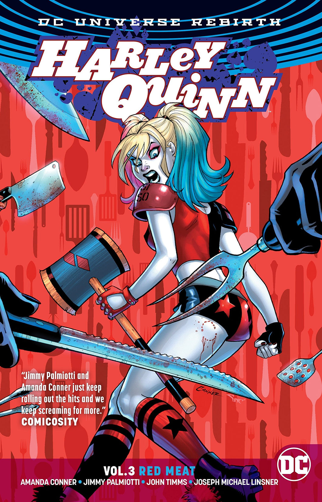 Harley Quinn Rebirth Vol. 3 : Red Meat