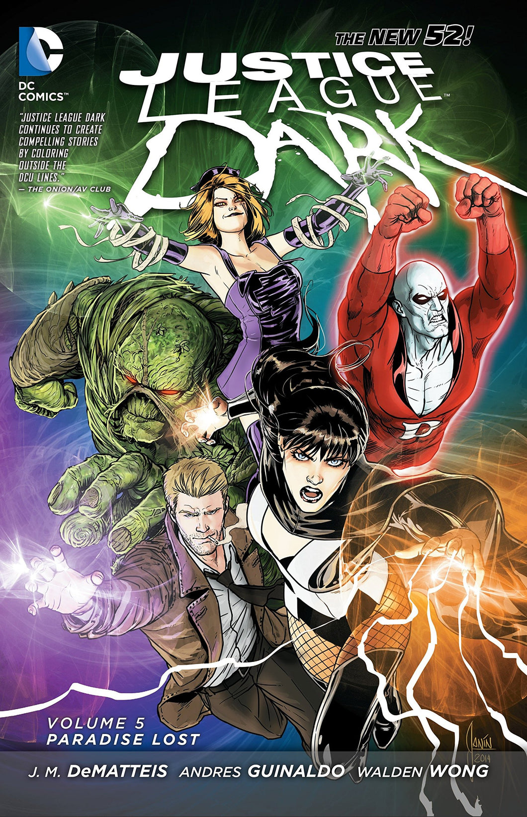 Justice League Dark Vol. 5 : Paradise Lost N.52