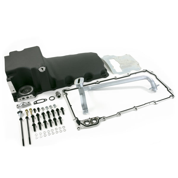 Ls Oil Pan Kit-Black