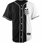Black/White Baseball Jersey