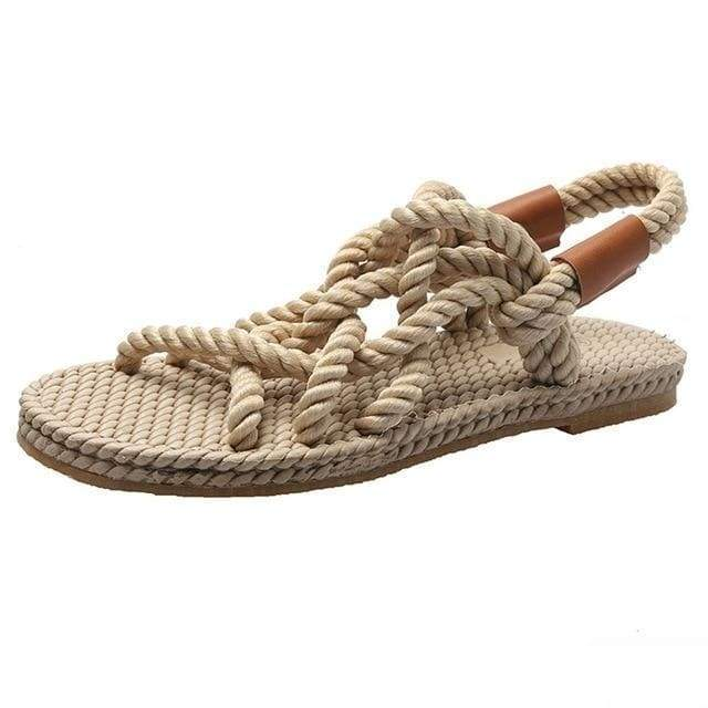 Braided Rope SAGACE Sandals/Shoes For Women - 24/7 Addiction