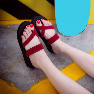 Casual Summer Fashioned Sandals/Slippers For Women [Anti-skid] - 24/7 Addiction