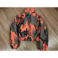 High Collar Camouflage Jacket