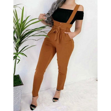 High Waist Jumpsuit - Peru / XL / United States