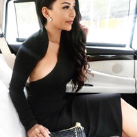 One Shoulder Bodycon Celebrity Dress