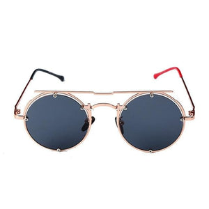 Round Oval UV-400 Sunglasses - 1 / United States