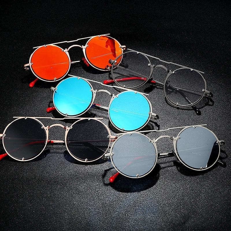 Round Oval UV-400 Sunglasses