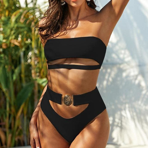 Sexy Bikini Bathing Suit - Black / M / United States