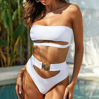 Sexy Bikini Bathing Suit - White / L / United States