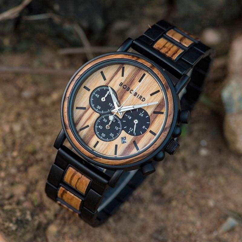 Wood Made Custom Watch - Watches