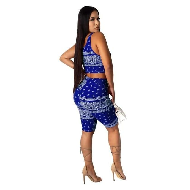 Two piece Cutie set - blue 2 piece set / XXL / United States