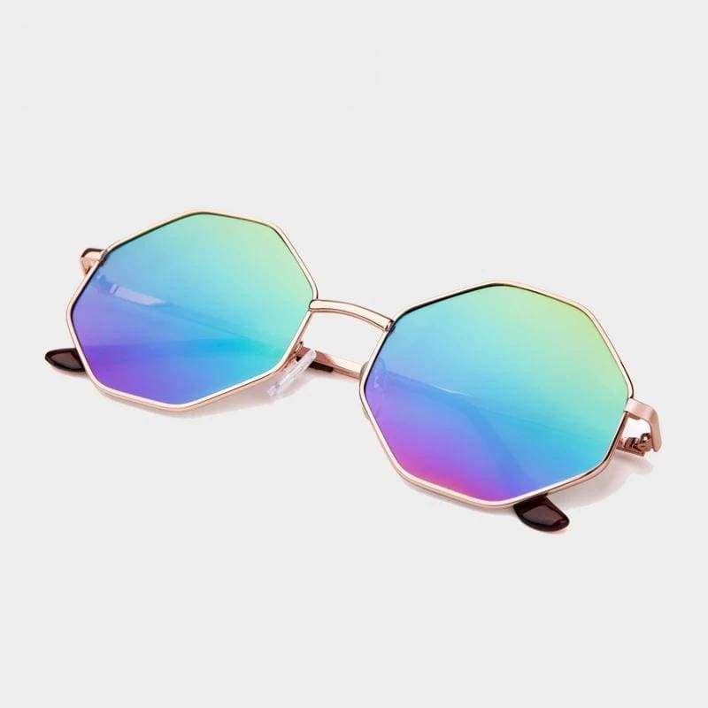 Vintage Mirror Sunglasses For Women [UV-400] - 24/7 Addiction