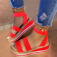 Women Sandals/Wedges - red / 42 / United States