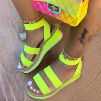 Women Sandals/Wedges - yellow / 37 / United States