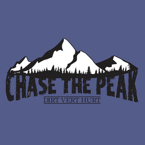 """Chase The Peak"" Women's Lightweight Hooded Long Sleeve T"