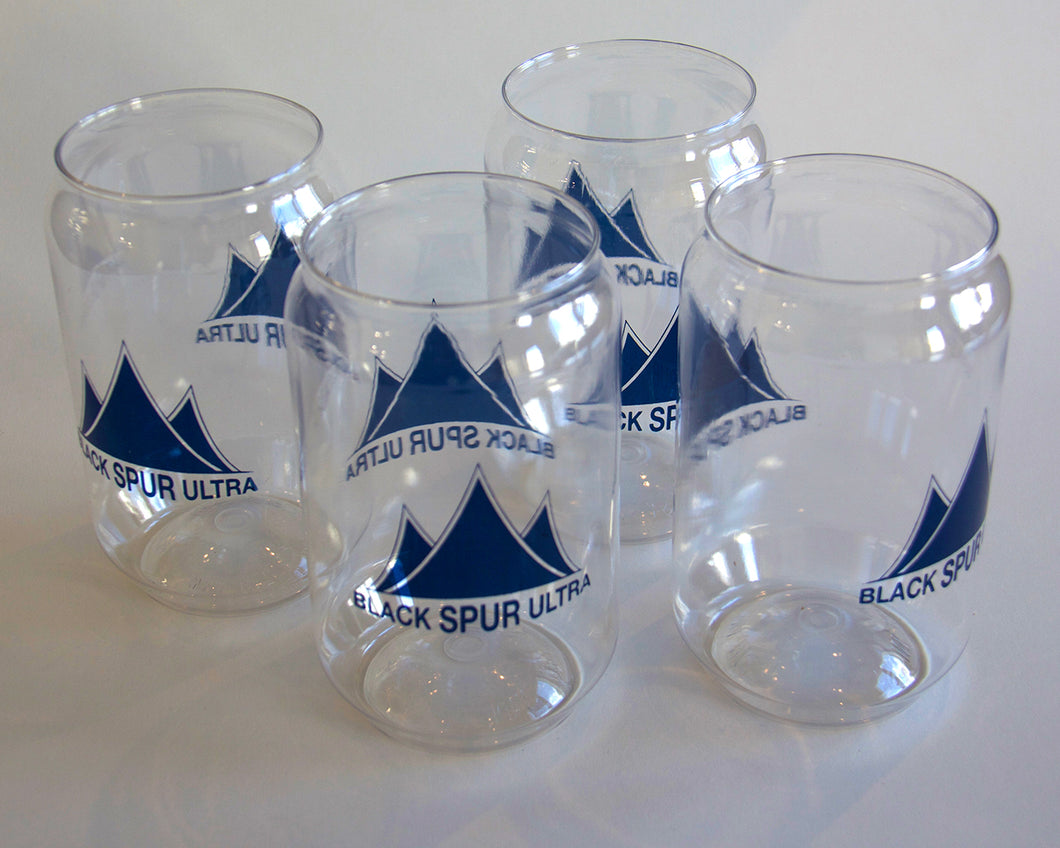 BSU Plastic Tumblers (Set of 4) with Blue Logo