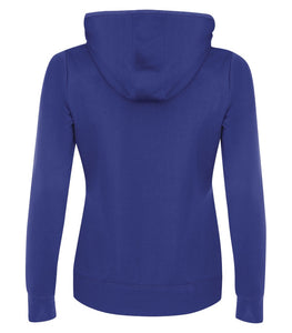 Women's 'True Royal' Fleece Hooded Sweatshirt