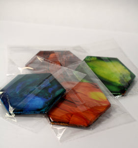 Coasters (4 pcs) by Allie McQuaid